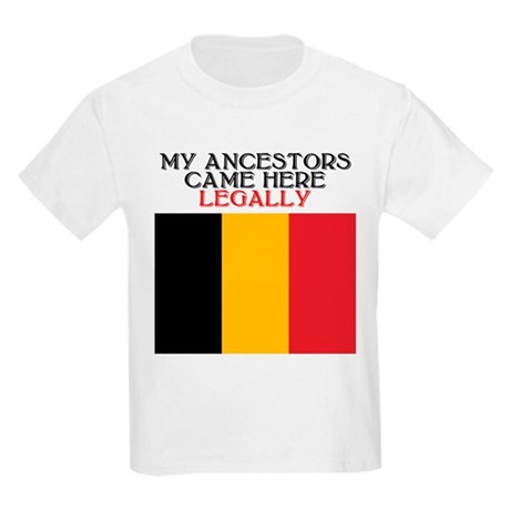 Belgian Heritage Kids T-Shirt