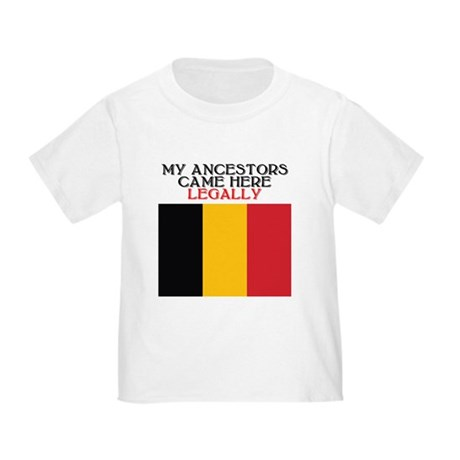 Belgian Heritage Toddler T-Shirt