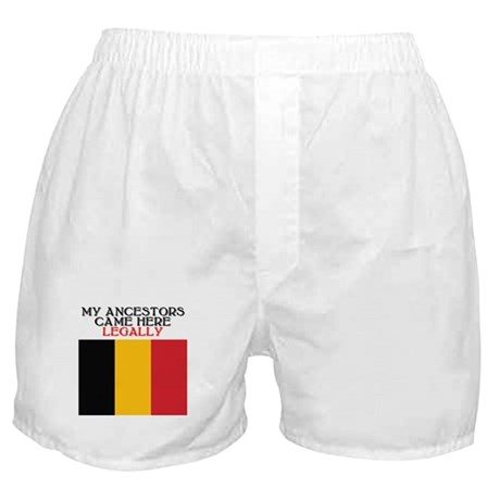 Belgian Heritage Boxer Shorts