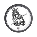 Mustang Horse Wall Clock