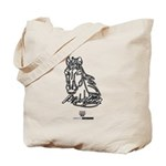 Mustang Horse Tote Bag