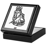 Mustang Horse Keepsake Box