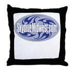 Skydive Midwest Throw Pillow