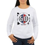 5.0 50 RWB Women's Long Sleeve T-Shirt