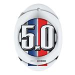 5.0 50 RWB Ornament (Oval)