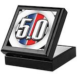 5.0 50 RWB Keepsake Box