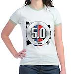 5.0 50 RWB Jr. Ringer T-Shirt