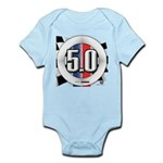 5.0 50 RWB Infant Bodysuit