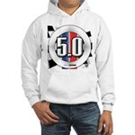 5.0 50 RWB Hooded Sweatshirt