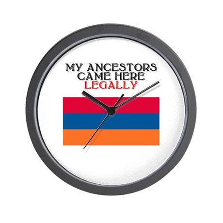 Armenian Heritage Wall Clock