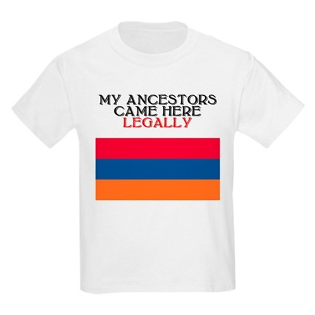 Armenian Heritage Kids T-Shirt