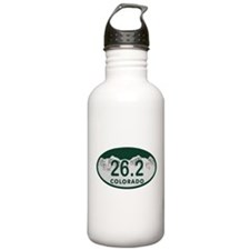 26.2 Colo License Plate Water Bottle