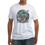 Buck Moon Fitted T-Shirt