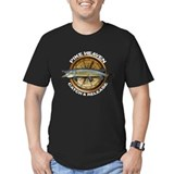 Men's Fitted Pike Angling T-Shirt (dark)