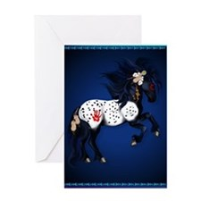 Appaloosa War Pony Greeting Card