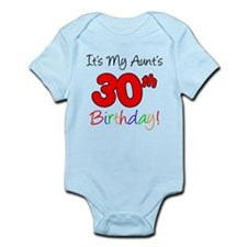 My Aunt's 30th Birthday Infant Bodysuit