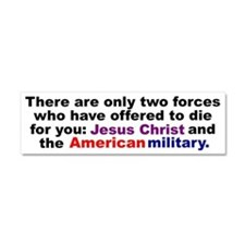 Funny Military Car Magnet 10 x 3