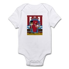 Circus Ringmaster and Clown Infant Bodysuit