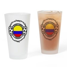 Colombia Soccer Drinking Glass