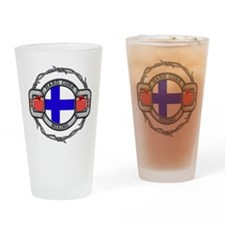 Finland Boxing Drinking Glass