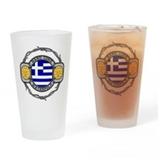 Greece Water Polo Drinking Glass