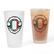 Italy Golf Drinking Glass