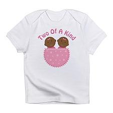 Twin Girls Ethnic Cute Infant T-Shirt