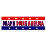 Obama Doing America Bumper Sticker (10 pk)