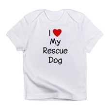 I Love My Rescue Dog Infant T-Shirt