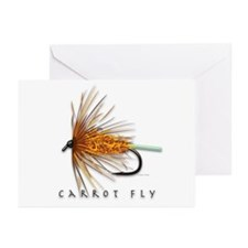 Carrot Fly Greeting Cards (Pk of 10)
