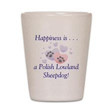 Happiness is...a Polish Lowla Shot Glass
