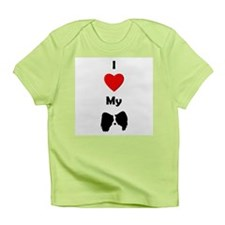 I Love My Papillon Infant T-Shirt