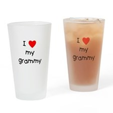 I love my grammy Drinking Glass