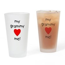My grammy loves me Drinking Glass