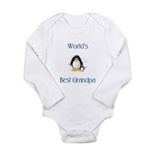 World's Best Grandpa Long Sleeve Infant Bodysuit