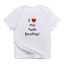 I love my twin brother Infant T-Shirt