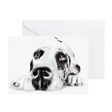 Great Dane Sweet Savannah Greeting Cards (Pk of 10