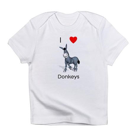 I love donkeys Infant T-Shirt
