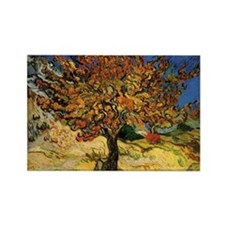 Vincent Van Gogh Rectangle Magnet