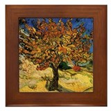 Vincent Van Gogh Framed Tile
