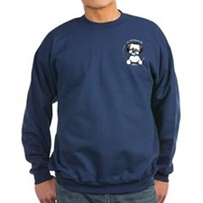 Tricolor Coton IAAM Pocket Sweatshirt