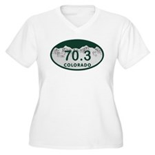 70.3 Colo License Plate T-Shirt