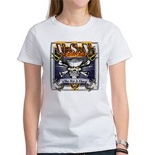 USN Skull and Anchors Tee