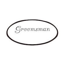 Groomsman Patches