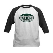 Alien Colo License Plate Tee
