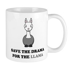 save the drama for the llama Mug