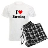 I Love Farming Pajamas