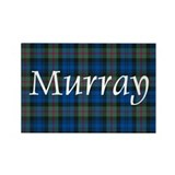 Tartan - Murray Rectangle Magnet