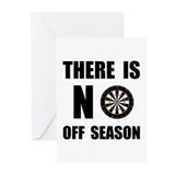 Unique Dart player Greeting Cards (Pk of 20)