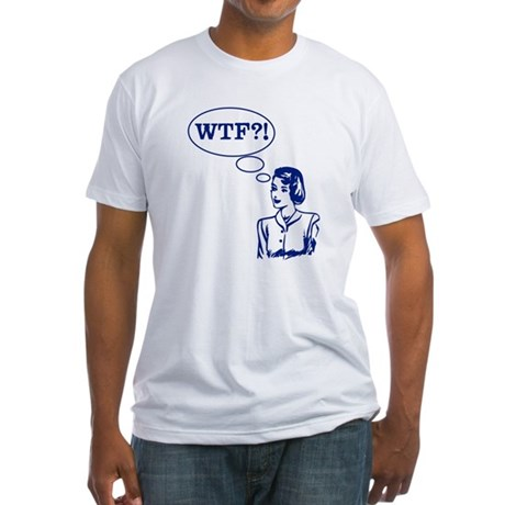 WTF Vintage Fitted T-Shirt